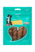 activa Friends Genuss Mix Mini-Kaurolle Hühnerbrustfilet Snack für Hunde