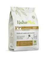 NaturPlus Adult Huhn & Lamm mit Karotte Hund Trockenfutter