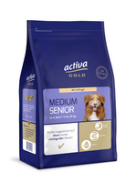 activa GOLD Trockennahrung Hund Medium Senior Geflügel