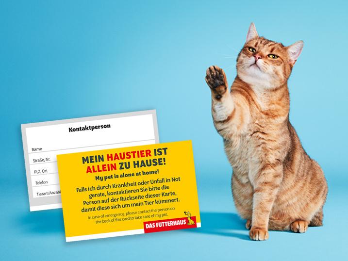 DASFUTTERHAUS-Notfallkarte