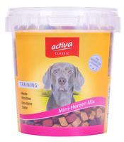 activa CLASSIC Snack Mini Herzen Mix für Hunde