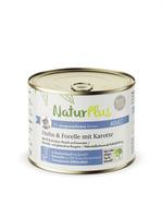 NaturPlus Katze Adult Huhn & Forelle mit Karotte Nassnahrung