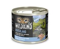 Katze Nassnahrung Senior Cat Riverland Truthahn Forelle