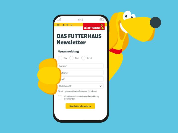 DASFUTTERHAUS-Newsletter