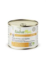 NaturPlus Katze Kitten Huhn & Pute mit Kürbis Nassnahrung