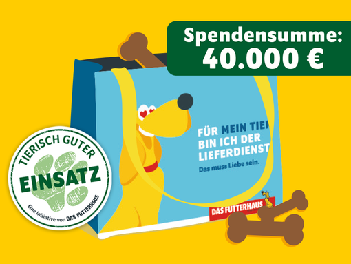 DASFUTTERHAUS Spendentasche