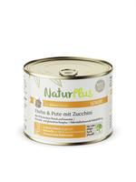 NaturPlus Katze Senior Huhn & Pute mit Zucchini Nassnahrung