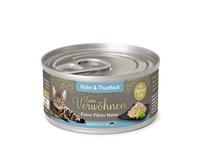 Katze Nassnahrung Feine Filets Natur Huhn Thunfisch