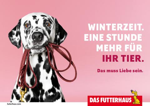 Winterzeit. Eine Stunde mehr für Ihr Tier.