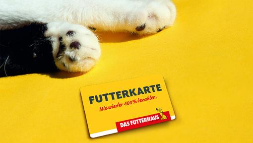[Translate to Österreich:] DASFUTTERHAUS FUTTERKARTE