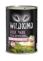 Hund Nassnahrung Adult Rose Park Huhn Wildkaninchen