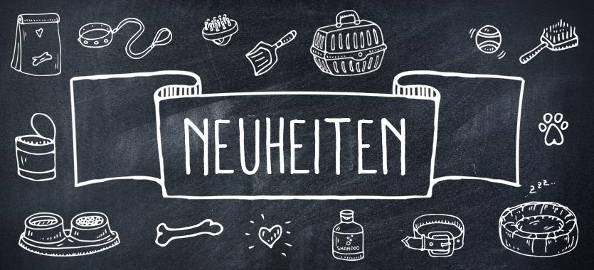 Neue Produkte bei DAS FUTTERHAUS