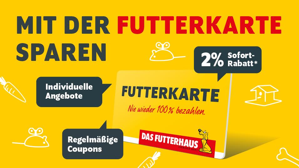 DAS FUTTERHAUS FUTTERKARTE