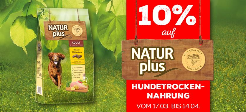 DAS FUTTERHAUS Rabatt-Aktion Natur Plus