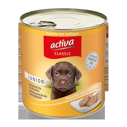 activa classic Nassnahrung Junior Hund