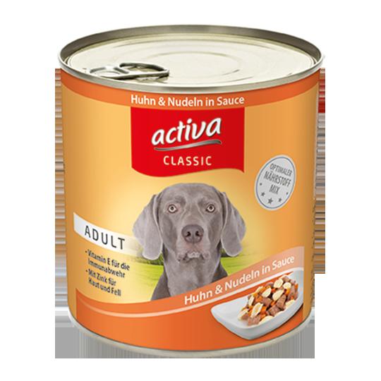 activa classic Hund Nassfutter Adult