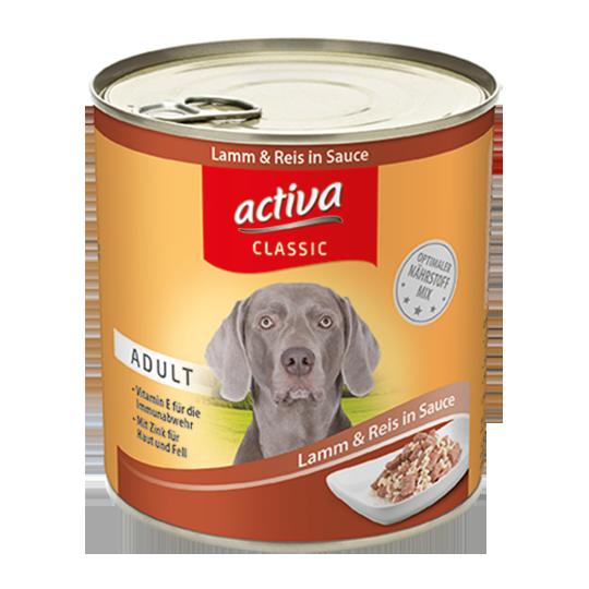 activa classic Hund Nassnahrung Adult