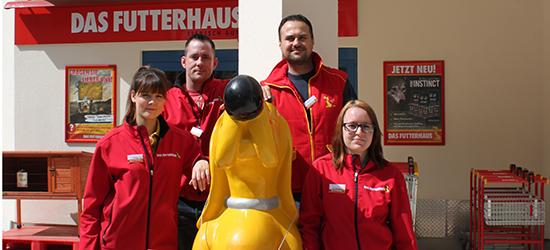 Ihr Futterhaus Team in Potsdam