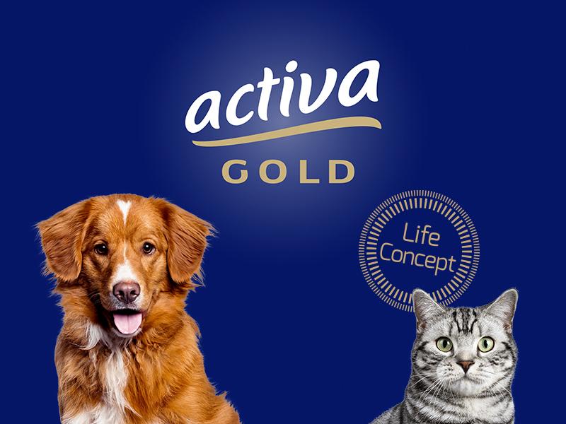 activa gold Tiernahrung