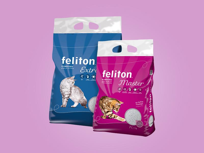 DAS FUTTERHAUS feliton Premium Katzenstreu