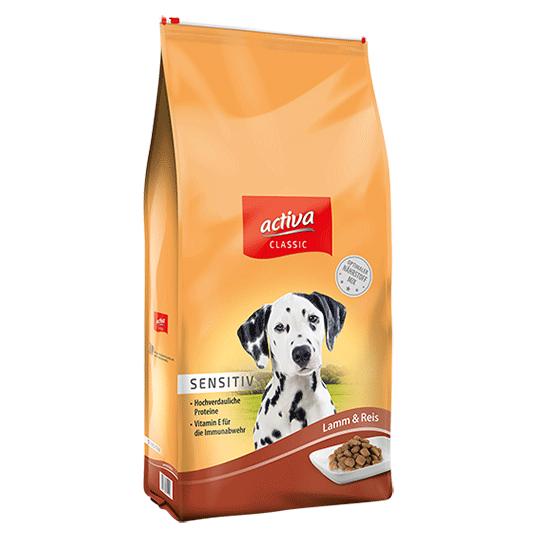 activa classic Hund Sensitiv Trockenfutter