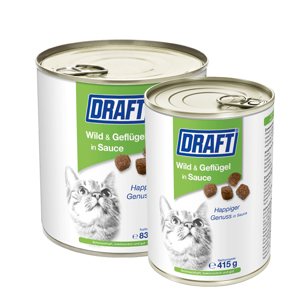 DRAFT Katze Dose Wild Gefluegel
