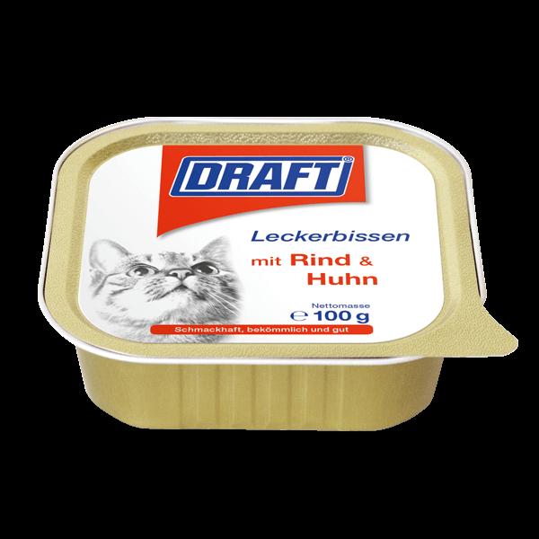 DRAFT Katze Schale Rind Huhn