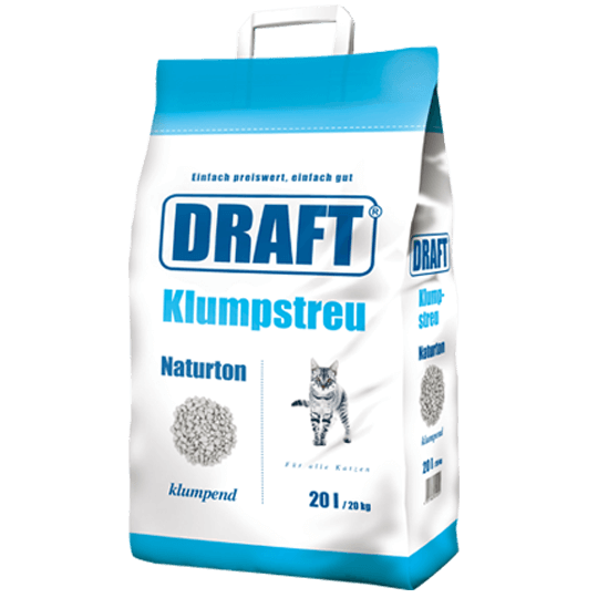 DRAFT Klumpstreu 20 Liter - DAS FUTTERHAUS