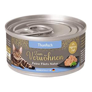 Zum Verwoehnen Feine Filets Natur Thunfisch