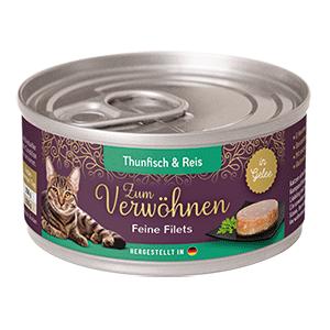 Zum Verwoehnen Feine Filets Thunfisch und Reis