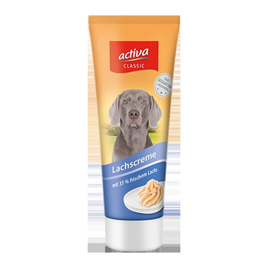 activa classic Hund Lachscreme
