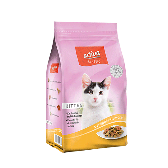 activa Classic Katze Trockenfutter Kitten
