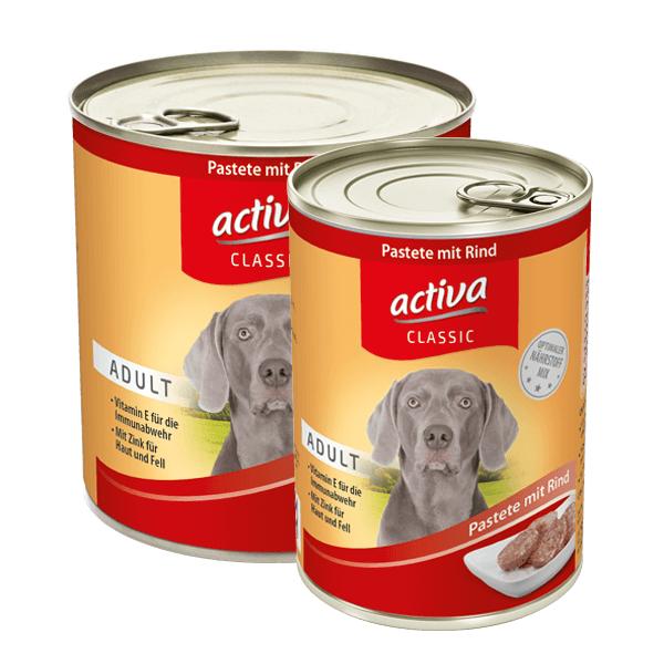 activa CLASSIC Adult Pastete Rind