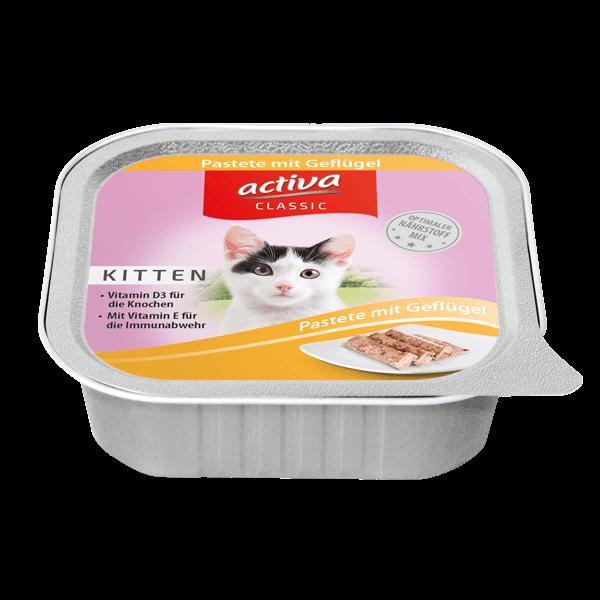 activa CLASSIC Kitten Schale Pastete Gefluegel