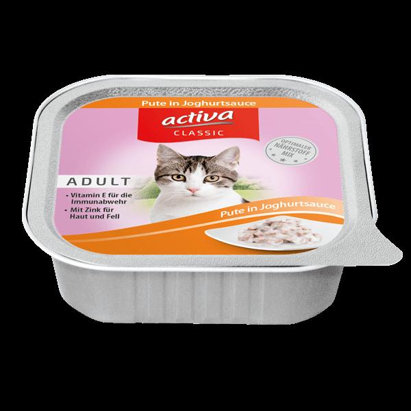 activa CLASSIC Katze Pute Joghurt