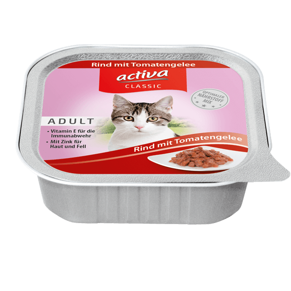 acriva CLASSIC Katze Adult Rind mit Tomatengelee