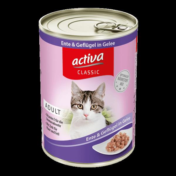 activa CLASSIC Katze Ente Gefluegel