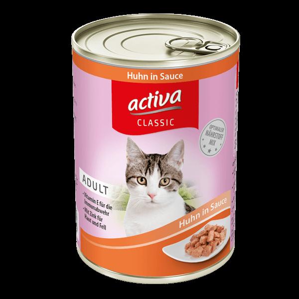 activa CLASSIC Katze Adult Dose Huhn Sauce