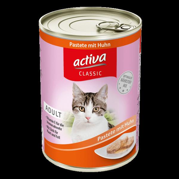 activa CLASSIC Katze Pastete Huhn