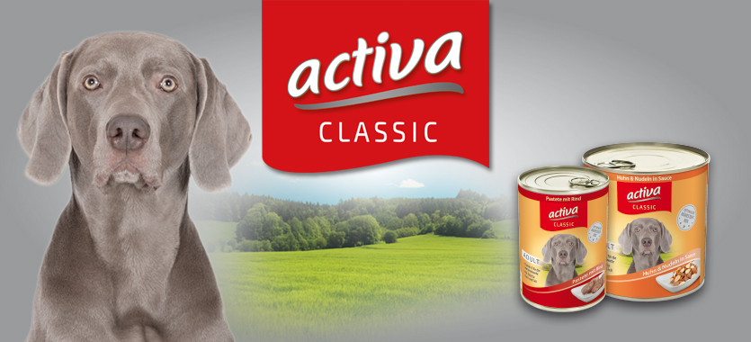 activa CLASSIC Hundenahrung