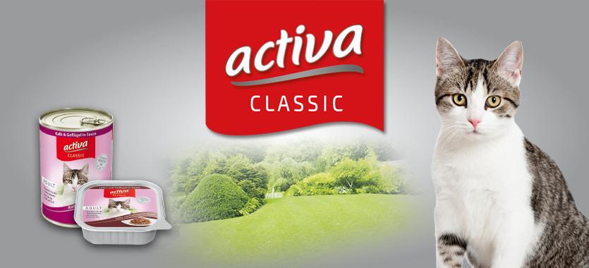 activa CLASSIC Katzennahrung