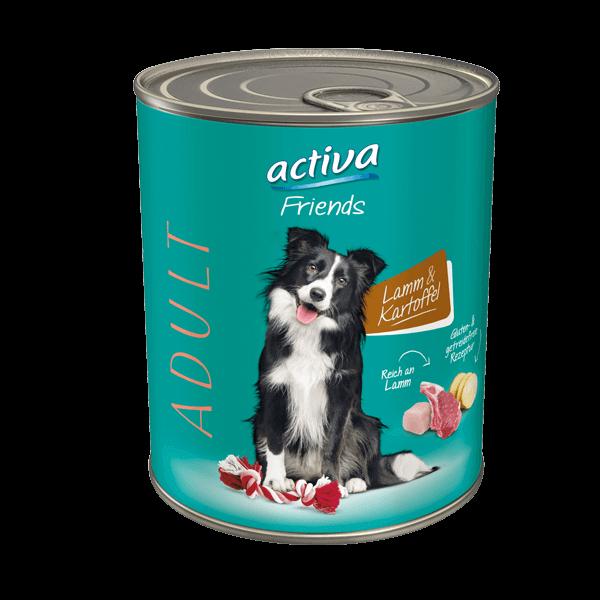activa Friends Hund Adult Lamm Kartoffel
