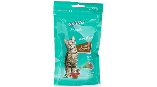 activa Friends Mini Sticks - Lamm und Katzenminze