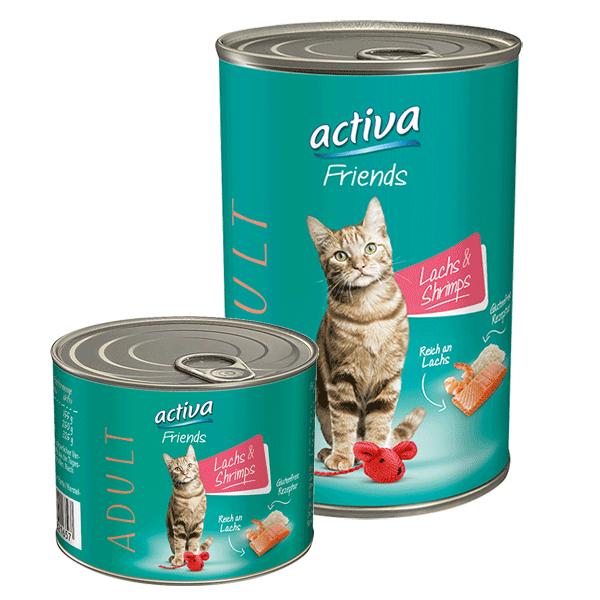 activa Friends Katze Adult Lachs & Shrimps