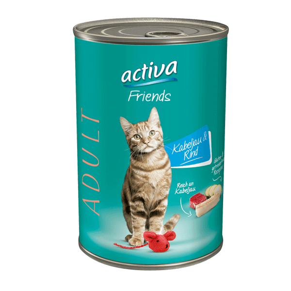 activa- Katzenfutter