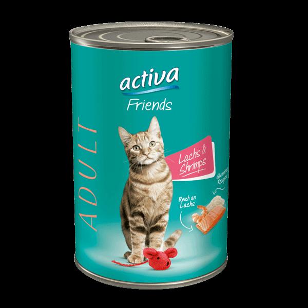 activa Friends Katze Adult Lachs & Shrimps