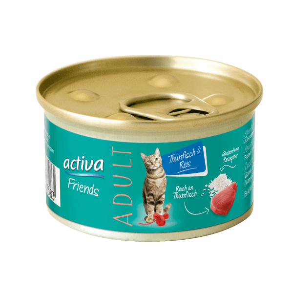 activa Friends Adult Thunfisch & Reis