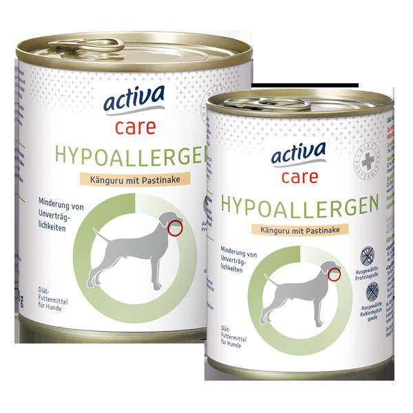 activa care Hund Nassnahrung Adult HYPOALLERGEN