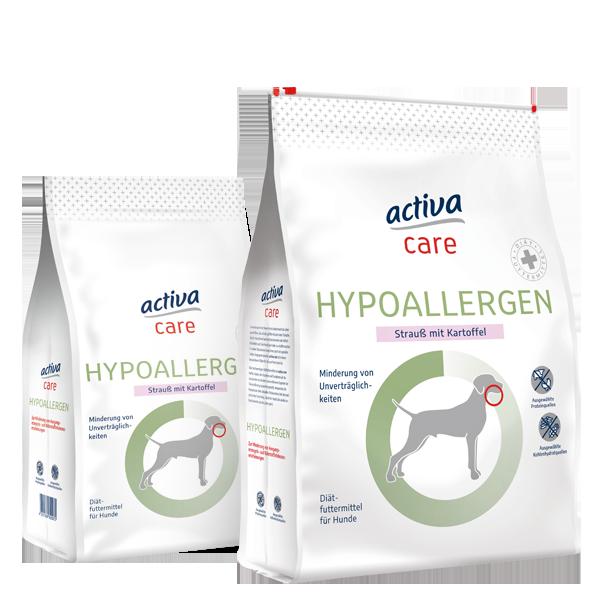 activa care Hund Trockennahrung Hypoallergen