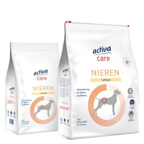 activa care Hund Trockenfutter Nieren